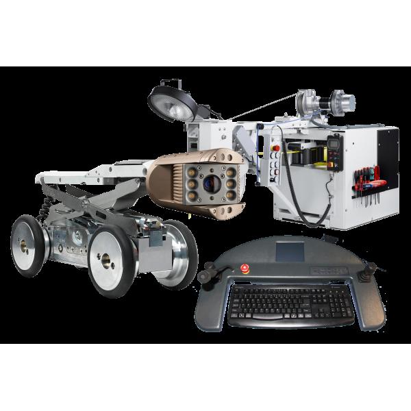IBAK MainLine kompletný systém na inšpekciu rúr, kamera s pohonom